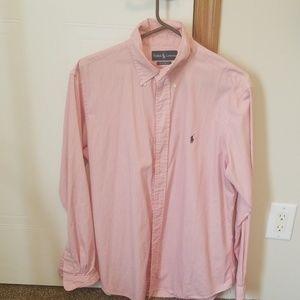 Mens Ralph Lauren Polo classic fit dress shirt